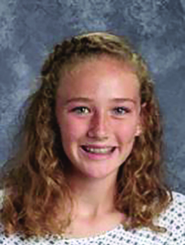 Greta Shadewald is the Optimist Sauk Prairie Middle Level Leader for September. She is an 8th grader and the daughter of Jerry and Laura Shadewald....