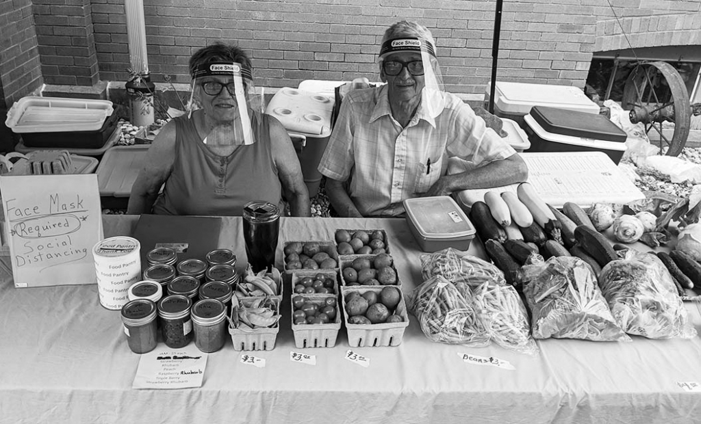 The Sauk Prairie Farmer's Market, held on Saturdays from 9 a.m. to noon in downtown Prairie du Sac, takes the health of its vendors and...