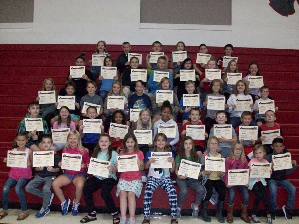 "The September Above The Line theme at Grand Avenue School was ""Caring."" The students listed below received awards on Friday, September 27,  from..."