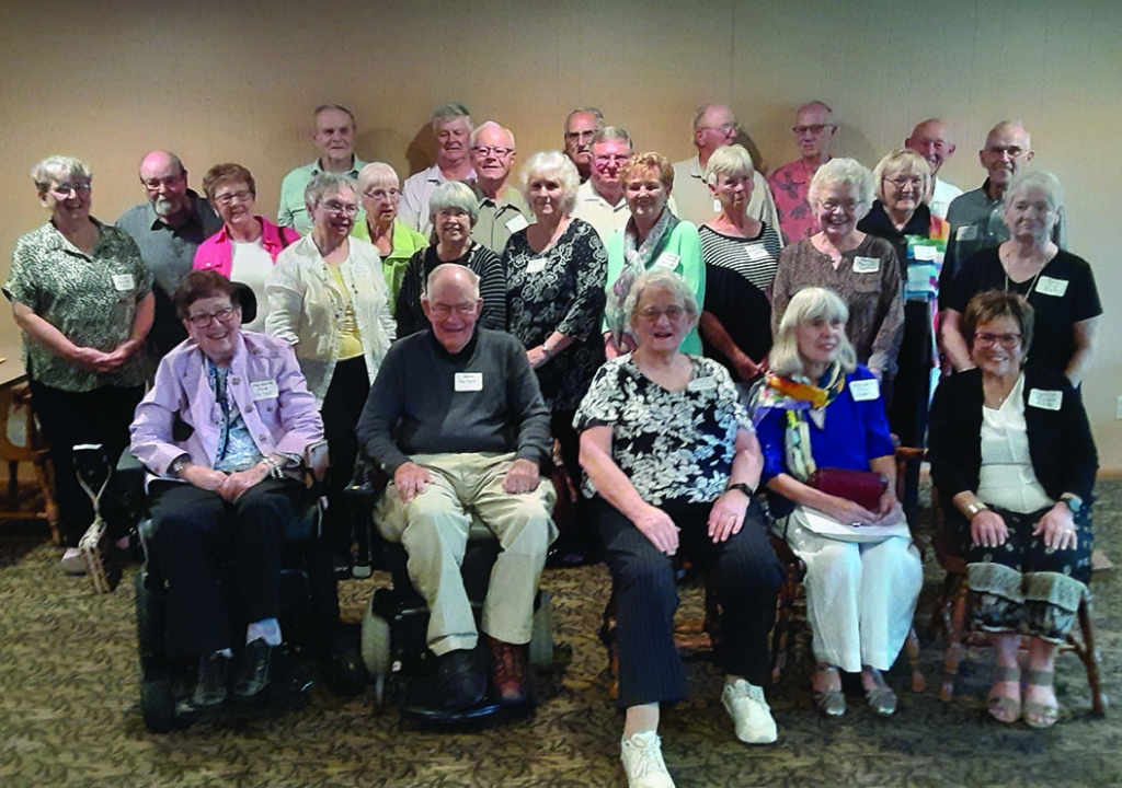 The Prairie du Sac High School Class of 1961 met for their 60th Class Reunion on September 12, 2021 at the Lake Wisconsin Country Club. There...