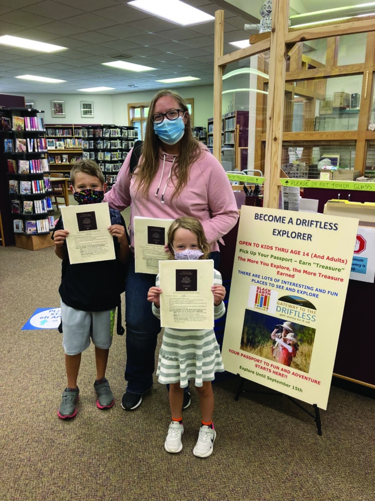 Kids in the Black Earth area were recently encouraged to get out and visit parks and conservancies in the area by filling out a Driftless Explorer...