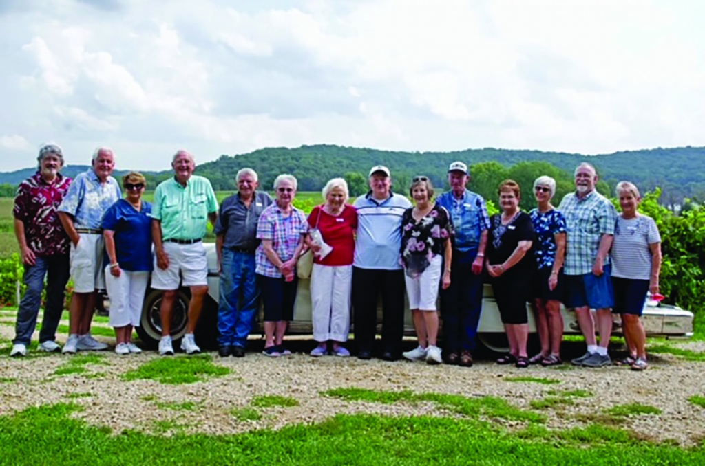 15 of 31 classmates from the Mazomanie class of 1961 recently celebrated 60 years since graduation, meeting at the Vines in Sauk City for an...