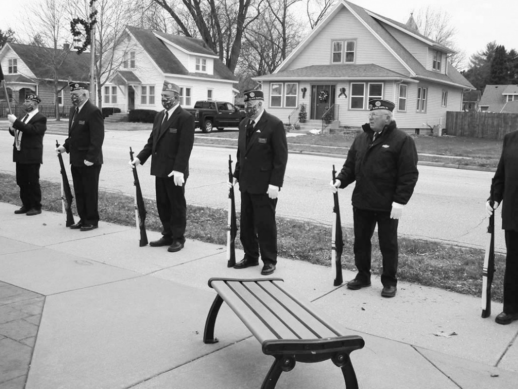 Mickelsons-Martin American Legion Post 313 Black Earth honored WWII Veterans and their families on December 7th, commemorating the 79th year since...