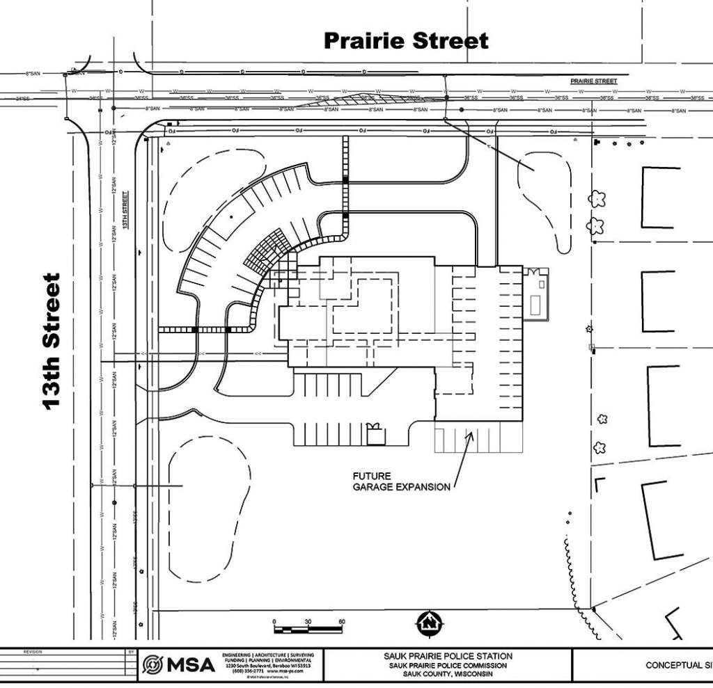 Sauk Prairie police department could soon be moving to a new building. Chief Jerry Strunz and Commission President Paul Dietmann presented the first...
