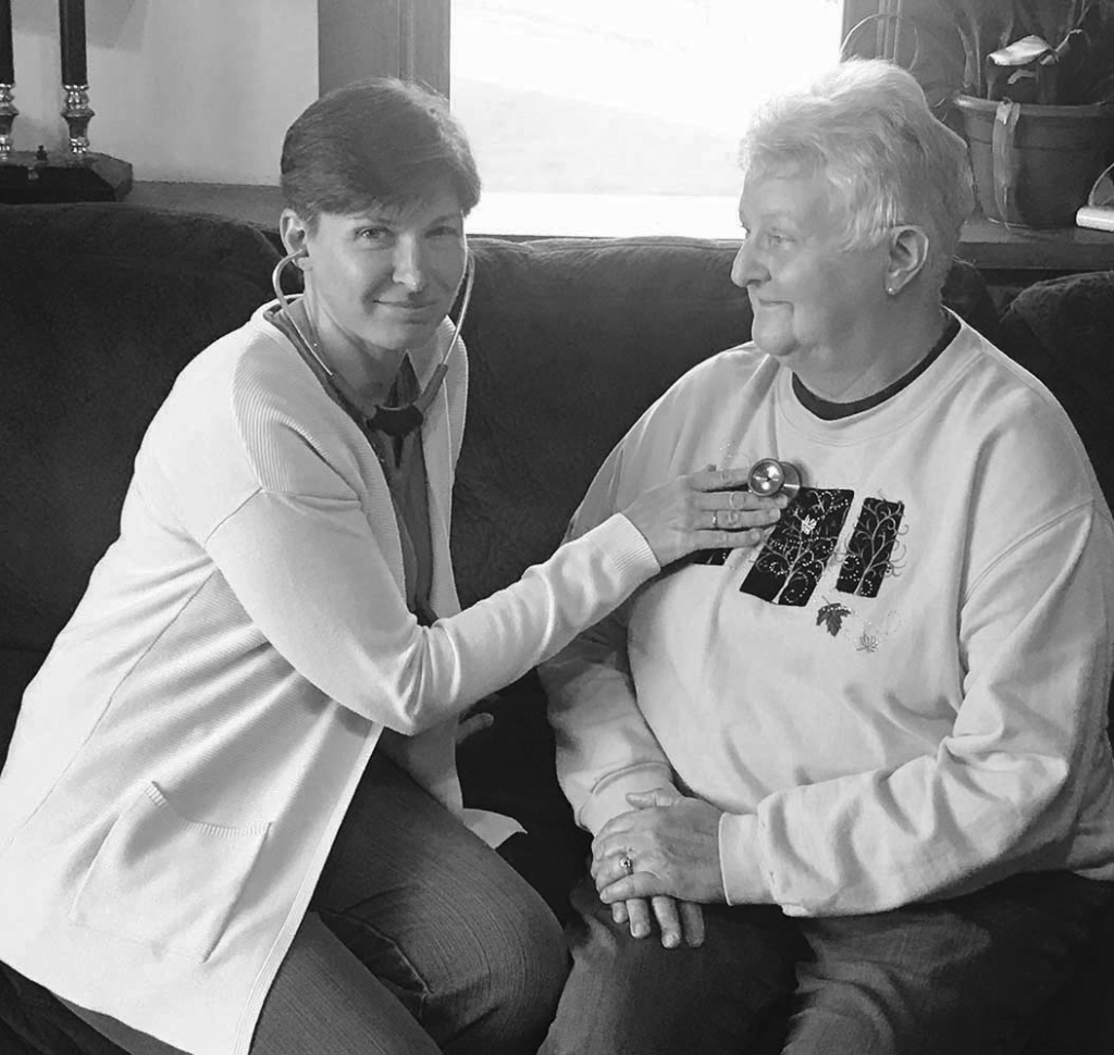 The country doctor has returned in a way in the form of a new Sauk County business.Patricia Passehl, a nurse practitioner from Loganville, started...