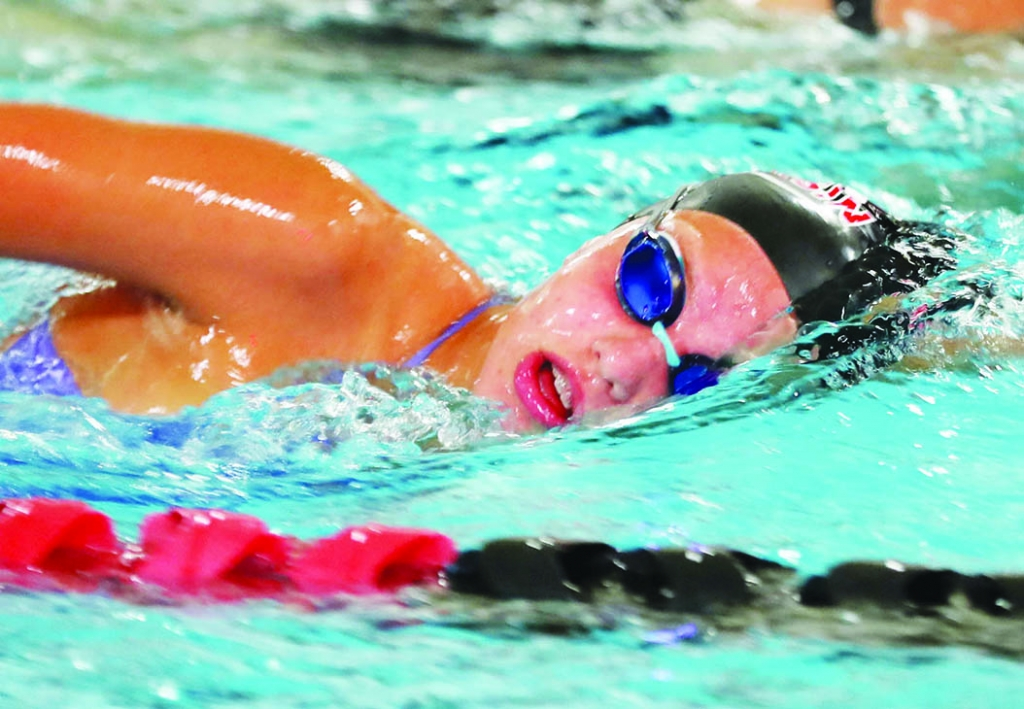 Melani Guentherman decided to experiment a bit last Tuesday.Guentherman, Sauk Prairie's girls swimming coach, mixed up her lineup against...