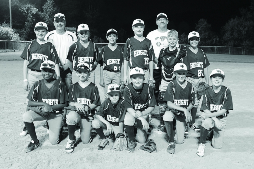 The Wisconsin Heights 5th and 6th grade baseball team went undefeated and won the 2020 Southwest Wisconsin Coaches League championship.In front (...