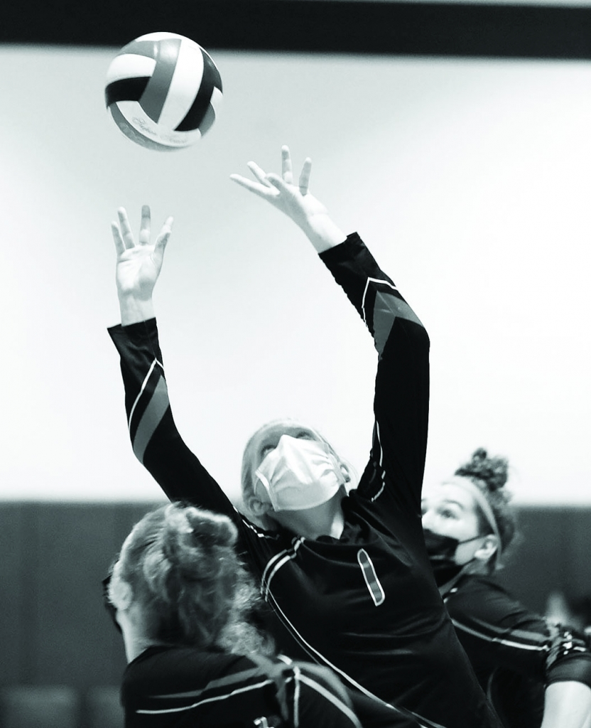 Sauk Prairie's girls volleyball team cruised past Oregon, 25-5, 25-17, 25-19, in their first Badger Conference game of the season last Tuesday...